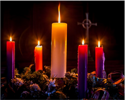 Advent Wreath small