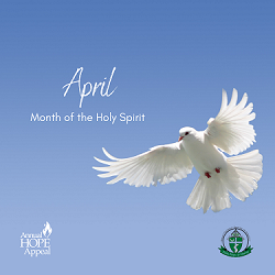 April - Holy Spirit