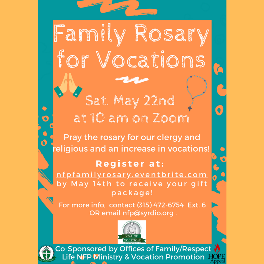 family rosary for vocations