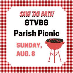 Parish Picnic save the date